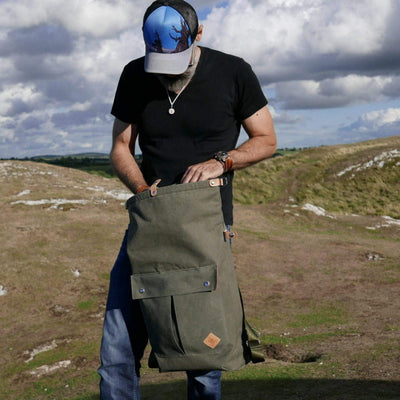 Portlander in feldgrau backpack - La Jefa and sons