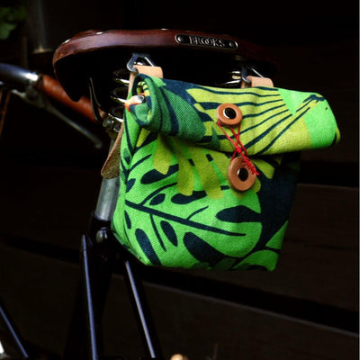 Private in jungle camo saddle bag - La Jefa and sons