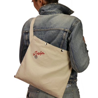 Musette in white canvas