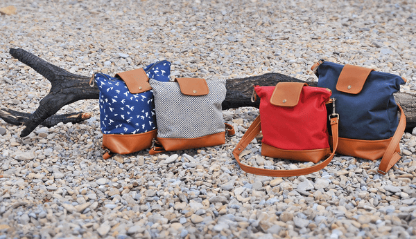 Recycled leather bags handmade in the uk Lauren Holloway bristol