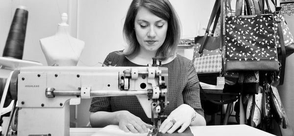 Our-story-lauren-holloway-bristol-handmade-recycled-leather-handbags-uk