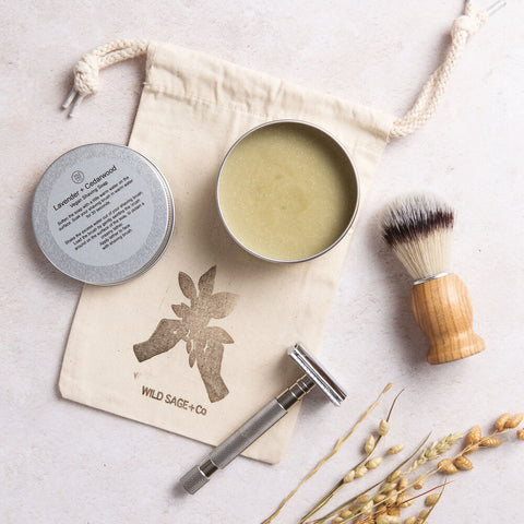 wild sage and co shave kit