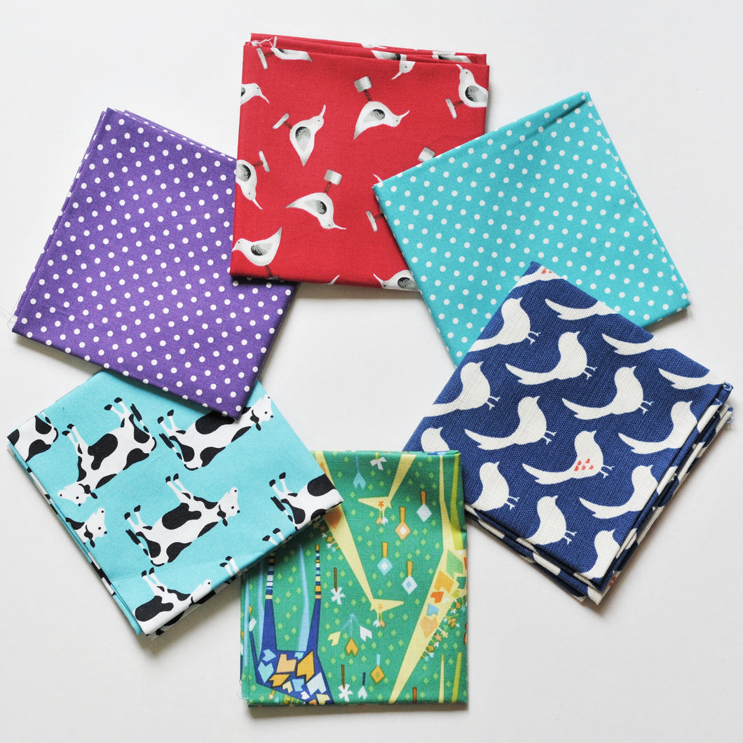 Fabric Bundle - Animal Pack No.2