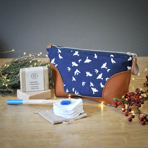 Luxury Eco Gift Set - Navy Bird