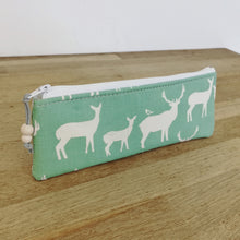 Load image into Gallery viewer, Small pouch - Green Stag