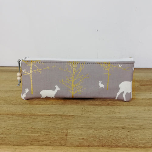 Small pouch - Gold Trees