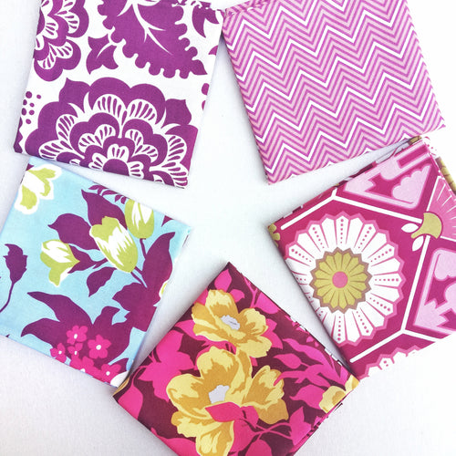 Fabric Bundle - Pink Floral & Chevron