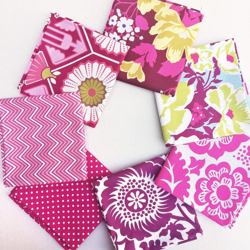 Fabric Bundle - Pink Florals