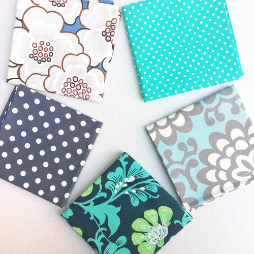 Fabric Bundle - Blue & Turquoise