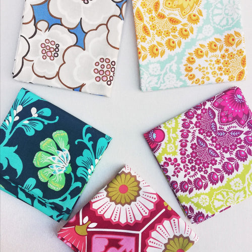 Fabric Bundle - Floral & Paisley