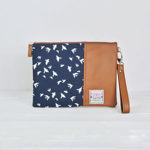Tablet Case - Navy Bird