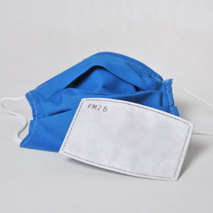 Pleated Face Coverings - Plain Cotton
