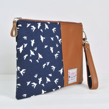 Load image into Gallery viewer, Tablet Case - Navy Bird