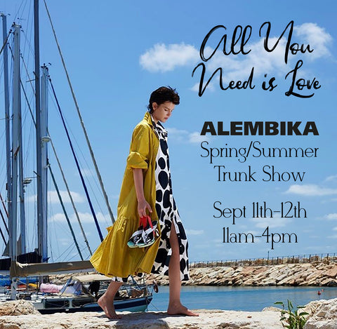 All You Need Is Love: Alembika Trunk Show