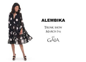 Fall Alembika Trunk Show