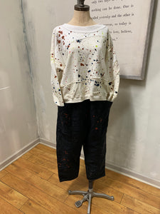 Scrap Sweatshirt in Pollock