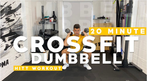 20 Minute Crossfit Dumbbell Workout with Faisal PMA