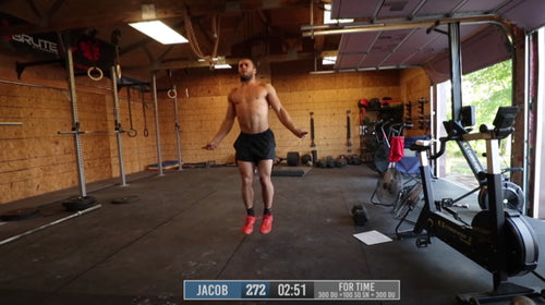 Double Under and Dumbbell Snatch Workout with Jacob Heppner