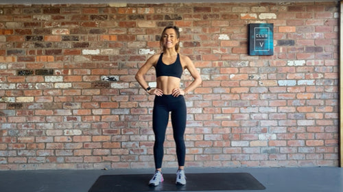 7 min AMRAP Workout With Tallila Henchoz