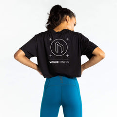 WIT + Vogue Fitness Club Series Crop Tee T-shirts