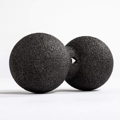 GOWOD Double Lacrosse Massage Ball (12cm)- GOWOD Edition Massage Balls One Size / Black / Unisex