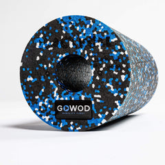 GOWOD Massage Roller- GOWOD Standard Edition Foam Rollers One Size / Black/White/Blue / Unisex