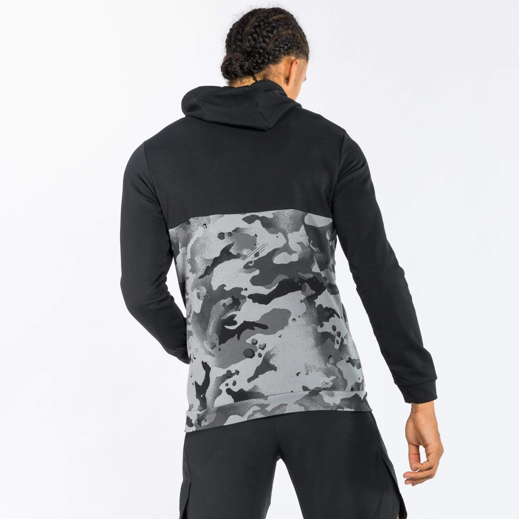 Nike Dri-Fit Full-Zip Camo Hoodie Hoodies