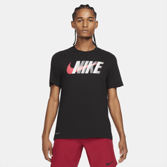 Nike Dri-FIT MenÕs Block Swoosh Training T-Shirt T-shirts