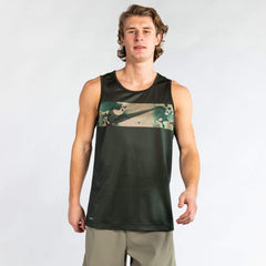 Nike Legend Men's Camo Swoosh Training Tank Tanks