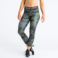Nike Pro Cropped Camo Tights Leggings