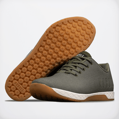 NOBULL Army Ivory Gum Trainer Trainers