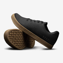 NOBULL Black Gum Canvas Trainer Trainers
