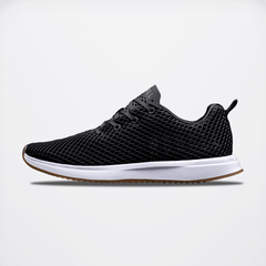 NOBULL Black Gum Diamond Mesh Runner Running Shoes