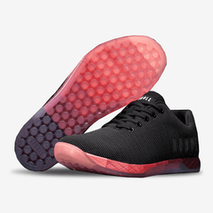 NOBULL Black Red Gradient Trainer Trainers