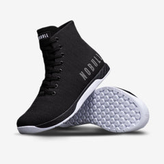 NOBULL Black White High-Top Trainers