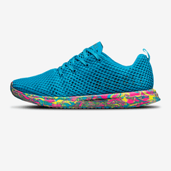 NOBULL Blue Wild Swirl Mesh Runner Running Shoes