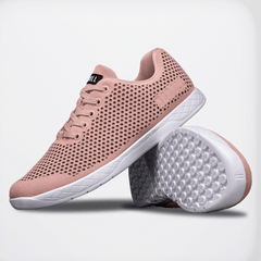 NOBULL Blush White Suede Trainer Trainers