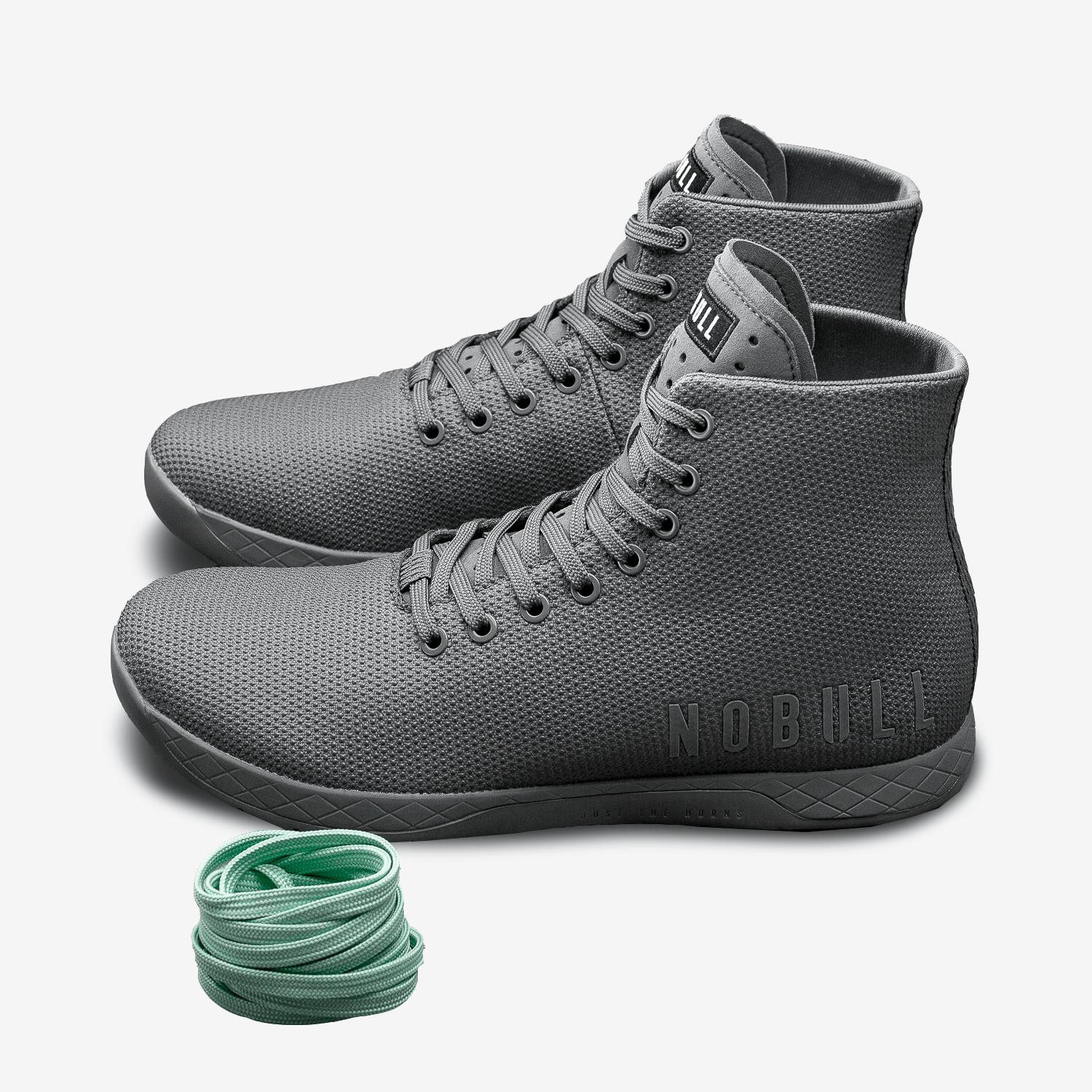 NOBULL Dark Grey High-Top Trainers