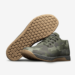 NOBULL Green Camo Gum Trainer Trainers
