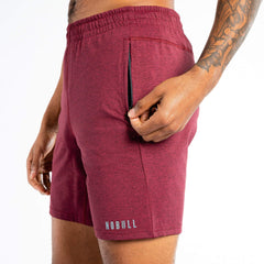 NOBULL Heather Knit Shorts Shorts