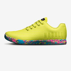 NOBULL Lime Wild Swirl Trainer Trainers