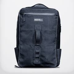 NOBULL Waxed Canvas Backpack Bags One Size / Black / Unisex