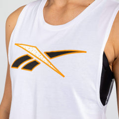 Reebok Inside Out Logo Muscle Tank Tanks