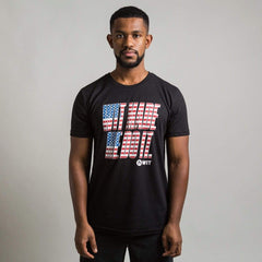 WIT Made Me Do It USA Tee T-shirts