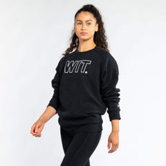 WIT Outline Logo Sweatshirt Sweatshirts