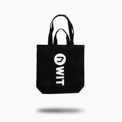 WIT Tote Bag Bags One Size / Black / Unisex