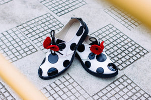 Polka Dots Oxfords