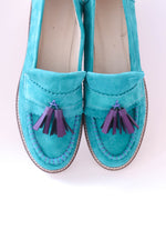Turquoise Moccasin