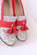 Geometric Moccasin