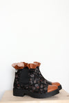 Autumn Flowers Chelsea Boots